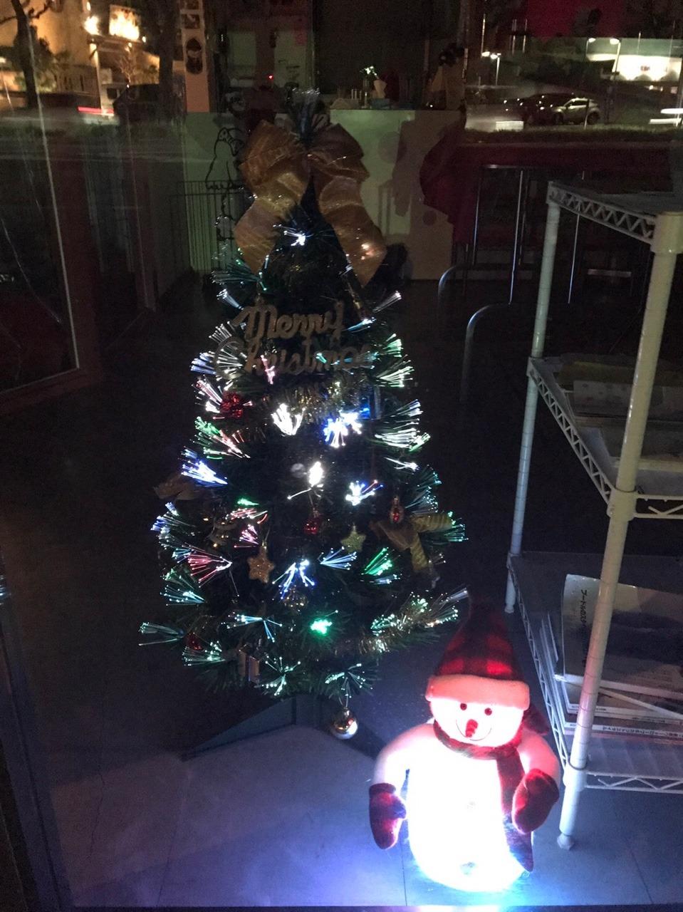 今年はかなり早めのクリスマスの飾り付け:イメージ